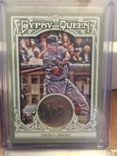 2013 Topps Gypsy Queen GIANCARLO STANTON Currency Relic Coin Quarter /5