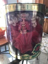 Vintage Mattel 1993 Happy Holidays Special Edition Barbie Doll #10824 *NRFB