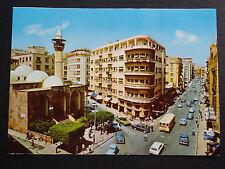 CPSM DE 1973 BEYROUTH LIBAN MOSQUEE D'EMIR MANSOUR