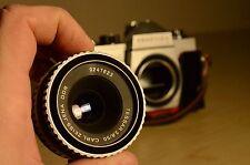 Carl Zeiss Jena Tessar 50mm f/2.8 lens, M42 CLA  mount + bonus Praktica body !!!