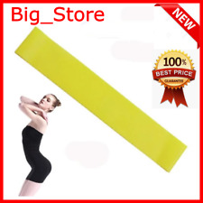 Rubber Full Loop For Yoga Sport Fitness Yellow Elastic Expander Resistance Bands