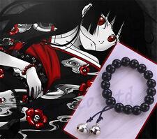 Anime Jigoku Shoujo Hell Girl Enma Ai Black Color Buddha Bracelet NYY