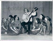 1969 Sound of Music Springer Opera House Columbus Georgia Press Photo