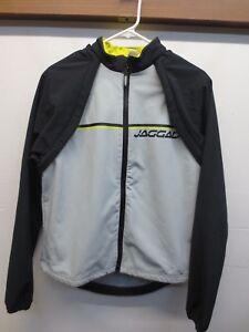 Jaggad Unisex Medium Gray Convertible Sleeve Fleece Lined Cycling Jacket Vest