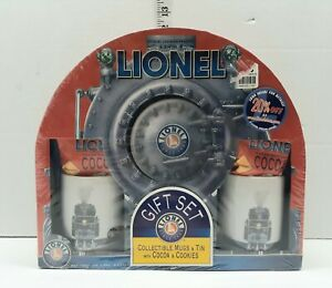 Lionel Collectible Mugs & Tin w/Cocca & Cookies 472900C Brand New