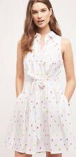 NEW Sz 4 Anthropologie Paleta Shirtdress HD In Paris Ice Pop Dress Rare