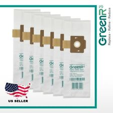 6× 00004000  GreenR3 Vacuum Bags Dust Bags Vacuum Cleaners Riccar Rslh-6