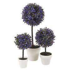 Decorative Artificial Outdoor Ball Plant Tree Pot Colour Small Medium Large