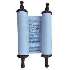 Small Hebrew  Torah Scroll Book Jewish Holy Bible Seffer Pentateuch