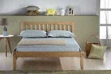 Birlea Porto Double Corona Mexican Pine 4FT6 135CM Waxed Wood Bed Frame