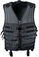 Black Molle Modular Tactical Assault Military Style Vest Rothco 5403