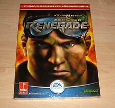 Command & Conquer Renegade - Prima's offizielles Lösungsbuch Berater - Neu OVP
