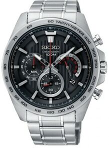 Seiko Gents Chronograph Watch SSB299P1 NEW