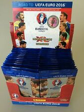 SALE  Road to Euro 2016 ADRENALYN XL Cards  By PANINI 300 packs (1500 cards )