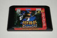 Sonic 3D Blast Sega Genesis Video Game Cart