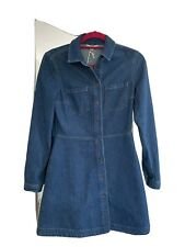 French Connection Edie Denim Shirt Dress Size 10 RRP £95.00