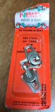 Vintage Newey Hook And Bar Fasteners For Trouser Or Skirt. England. K