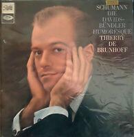 RARE LP DE BRUNHOFF SCHUMANN PIANO SOLO OG FRENCH PATHE EMI ASTX 338