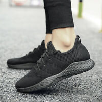 Breathable Comfortable Casual Shoes Fashion Men Lace Up Wear-resistant Sneakers