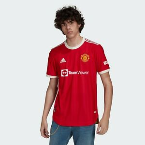 MANCHESTER UNITED 21/22 HOME AUTHENTIC JERSEY - Brand New With Tags