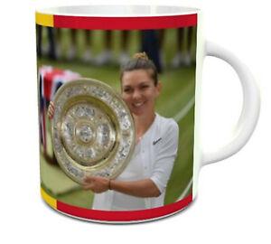 Simona Halep 2019 Wimbledon winner mug 11oz ceramic mug
