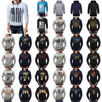 Winter Men's Hoodie Warm Hooded Sweatshirt Coat Jacket Outwear Jumper Sweater