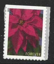 US Scott #4816, DOUBLE SIDED Single 2013 Poinsettia VF MNH
