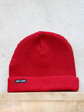Sailors Watch Cap in Medoc Red - Chunky Wool Knit Hat - Made in France -St James