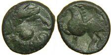 CELTS, PANNONIA, The Scordisci, 2nd Century BC, AE Tetradrachm. Kugelwange Type.