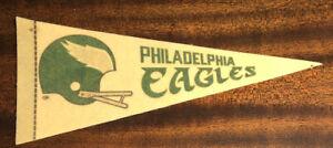 Vintage 1970's Philadelphia Eagles NFL Mini Pennant National Football League SBC