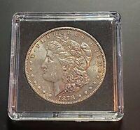 1878-S Morgan Silver Dollar ~ Natural Toning ~ MIRROR ~ Historic 1st Year Coin!!