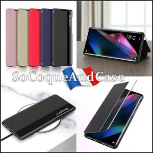 Case Cover Window Leather PU Leather View Oppo Find X3/X3 Pro