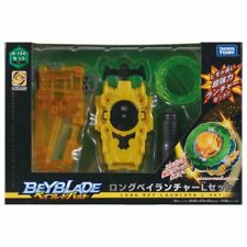 Takara Tomy Beyblade Burst B-124 Long Bey Launcher L Spin Set Cho-Z New In Box