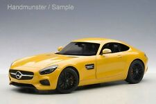 MERCEDES-BENZ AMG GT S SOLARBEAM YELLOWISH ORANGE 1:18 AUTOart 76314  NEW IN BOX