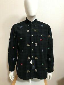 Polo Ralph Lauren Mens Dress Shirt 100% Cotton Sizes L XL NWT MSRP 168