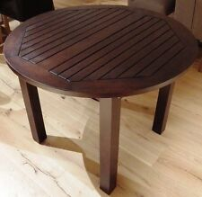 Teak Rundtisch colonial 5417 D.100 cm H. 76 cm Wohnnmöbel Tisch Küche Esstisch