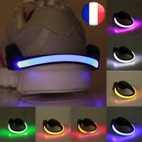 LED Avertissement Lumière Clip Clignotant Chaussures Course A Pied Nuit Conduite