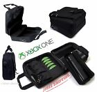 Xbox One Travel Case Carrying Bag Disc Pockets for Accessories Kinect Pocket