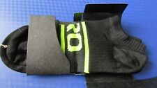 Giro comp racer cycling bike ankle socks black/Hi Viz yellow size XL BNWT