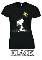 Snoopy PEANUTS Friendship Family Love Happy Cute T-shirt  Men Women Unisex V180