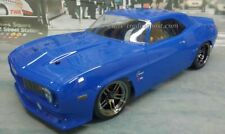 Custom Painted Body 69 Chevy Camaro Z28 for 1/10 RC Drift Cars Touring HPI 200mm