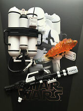 HOT Toys Star Wars Forza si sveglia 1st ordine flametrooper Fucile & TANK SCALA 1/6th