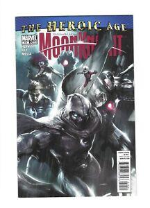 VENGEANCE of MOON KNIGHT #10  Mattina Cover, 9.2 NM-, Marvel