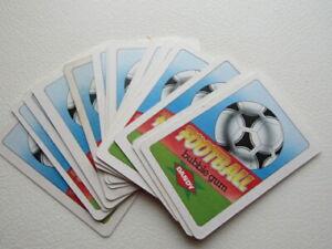 Dandy Bubblegum 1986 World Cup Football Card Variants (ef5)