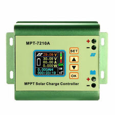 LCD MPPT Solar Regulator Charge Controller 24/36/48/60/72V 10A 60V DC-DC Boost