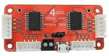 4tronix PiStep2 QUAD Stepper Motor Control Driver Board for Raspberry Pi