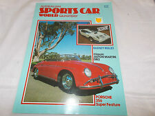 SPORTS CAR WORLD - 1982 - OZ MAGAZINE-ASTON MARTIN DB2-PORSCHE 356-BADSEY BULLET