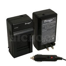 Battery Charger & Car Kit For Panasonic DMW-BCH7 BCH7E BCH7PP DMC-FP3 FT10 TS10