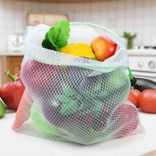 Reusable Mesh Produce Bags Grocery Fruit Vegetable Washable Sundries Storage NEW