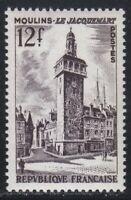 France 1955 MNH Mi 1050 Sc 769 Jacquemart of Moulins **